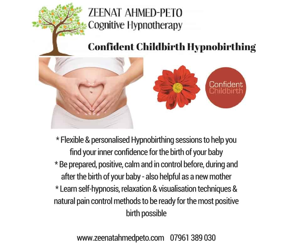 Confident Childbirth Hypnobirthing