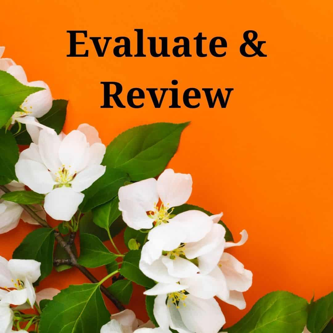 5. evaluate review